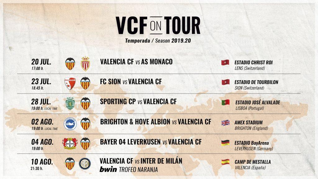 Todos los partidos de la pretemporada 2019/20 (VCF on TOUR) 1