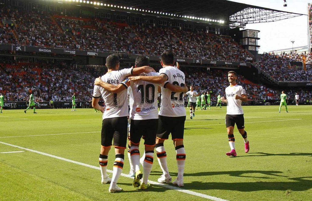CRÓNICA | Los puntos siguen volando fácilmente de Mestalla (1-1) 1