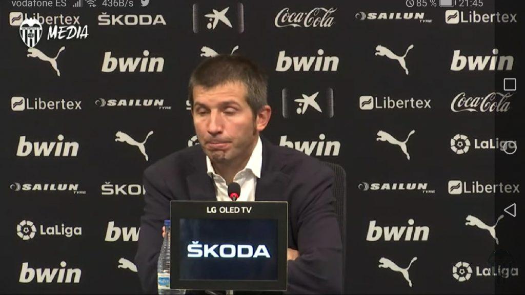 VÍDEO | Rueda de prensa completa de Celades tras el 1-1 ante el Leganés 1