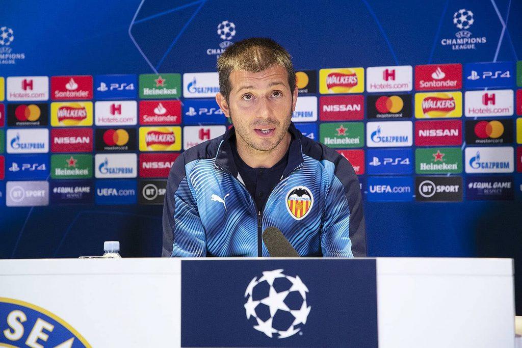 Rueda de prensa de Celades previa al Chelsea vs Valencia CF (Texto y Vídeo) 1