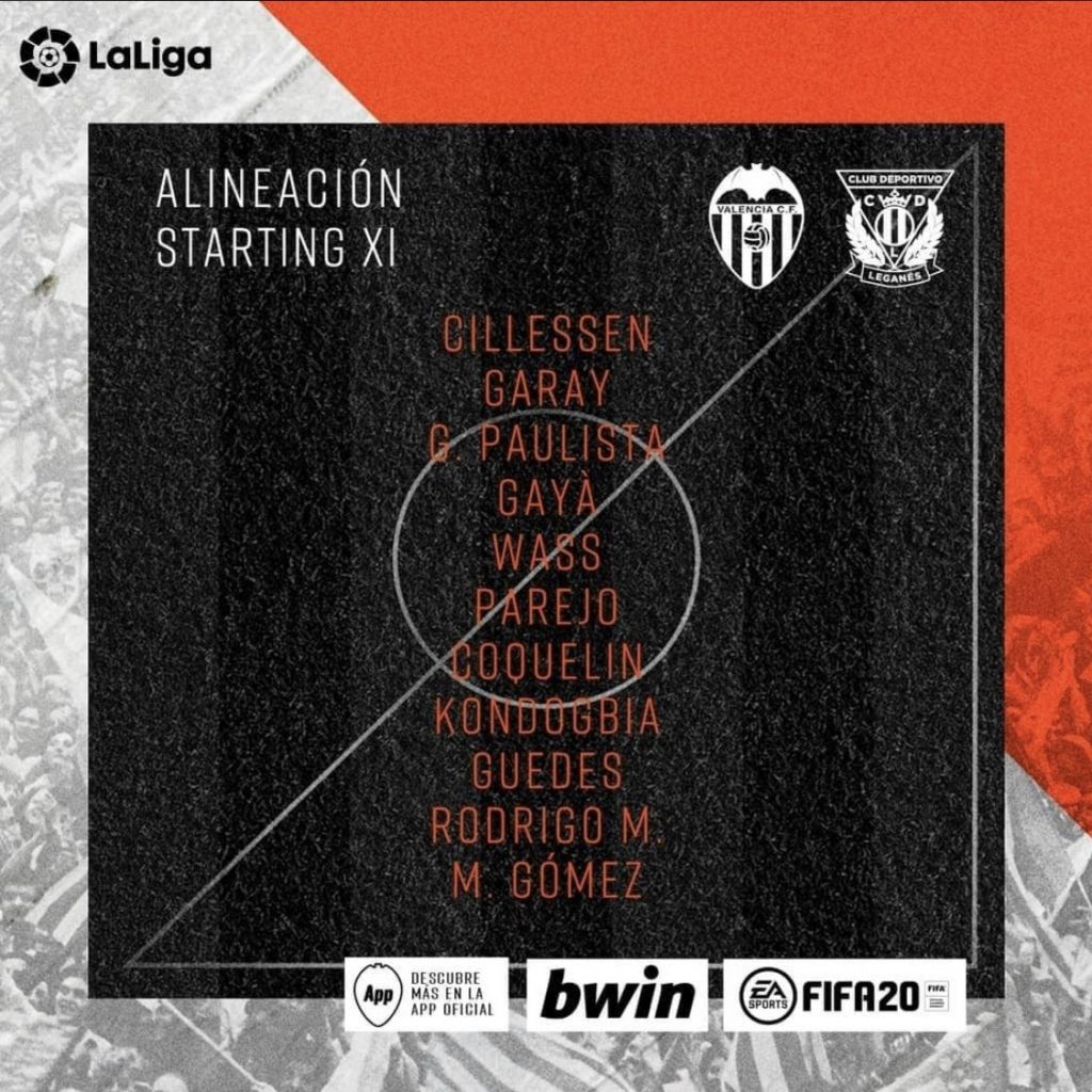 Guedes vuelve al once de Celades contra el CD Leganés 1