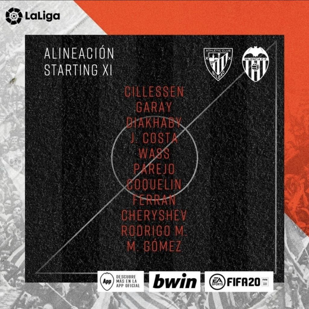 ¿Vuelta al 4-4-2? El once de Celades del Athletic vs VCF 1