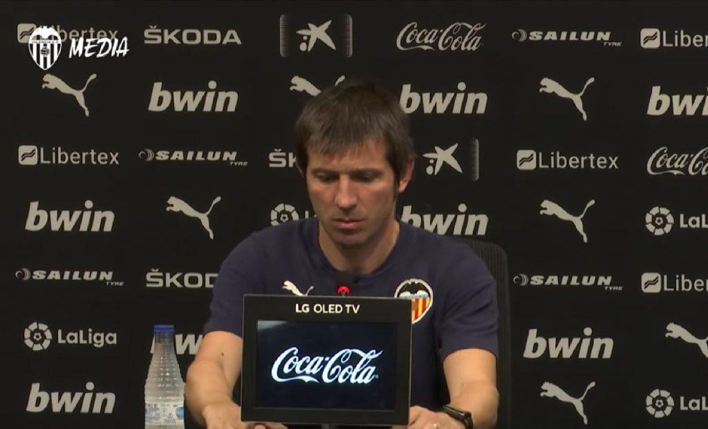 VÍDEO | Rueda de prensa completa de Celades tras el VCF 1-1 Sevilla 1