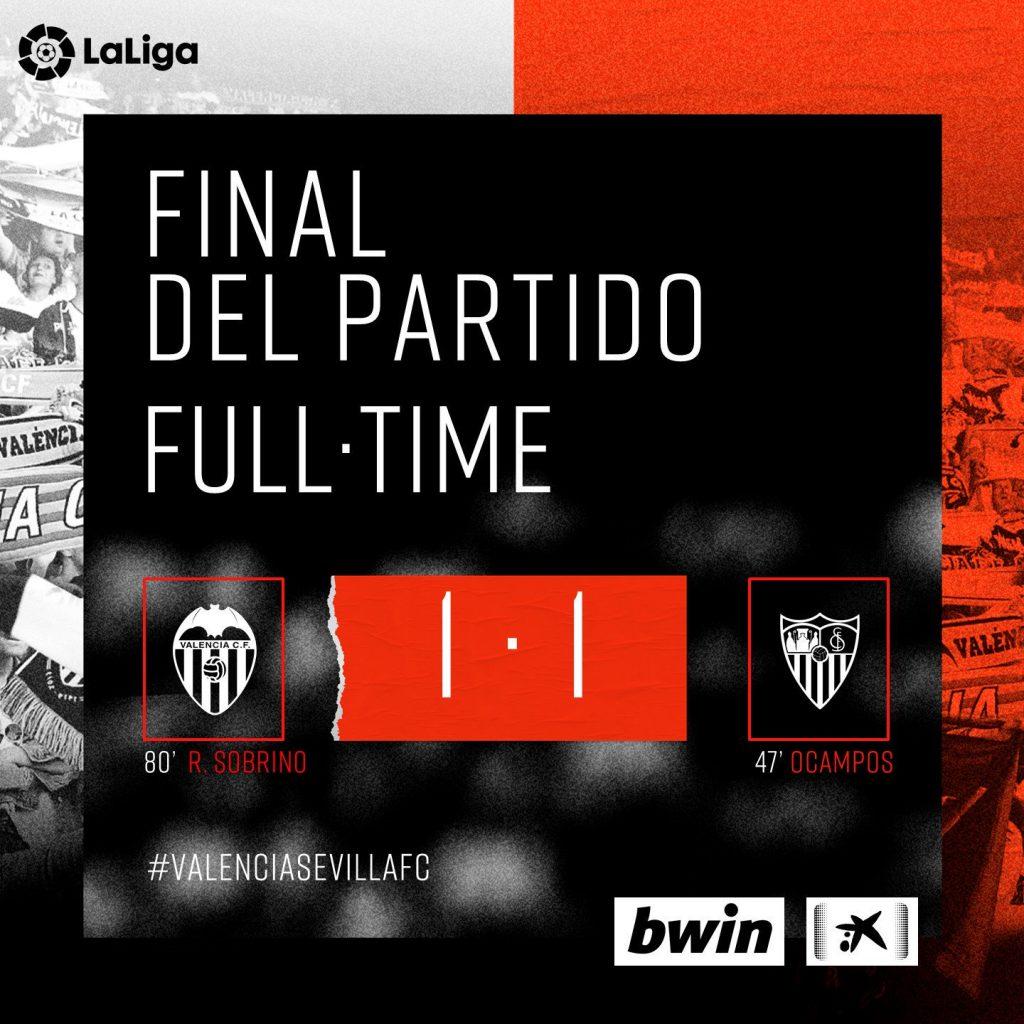 CRÓNICA | Un empate que sabe a poco (VCF 1-1 Sevilla) (Incluye Vídeo Resumen) 1