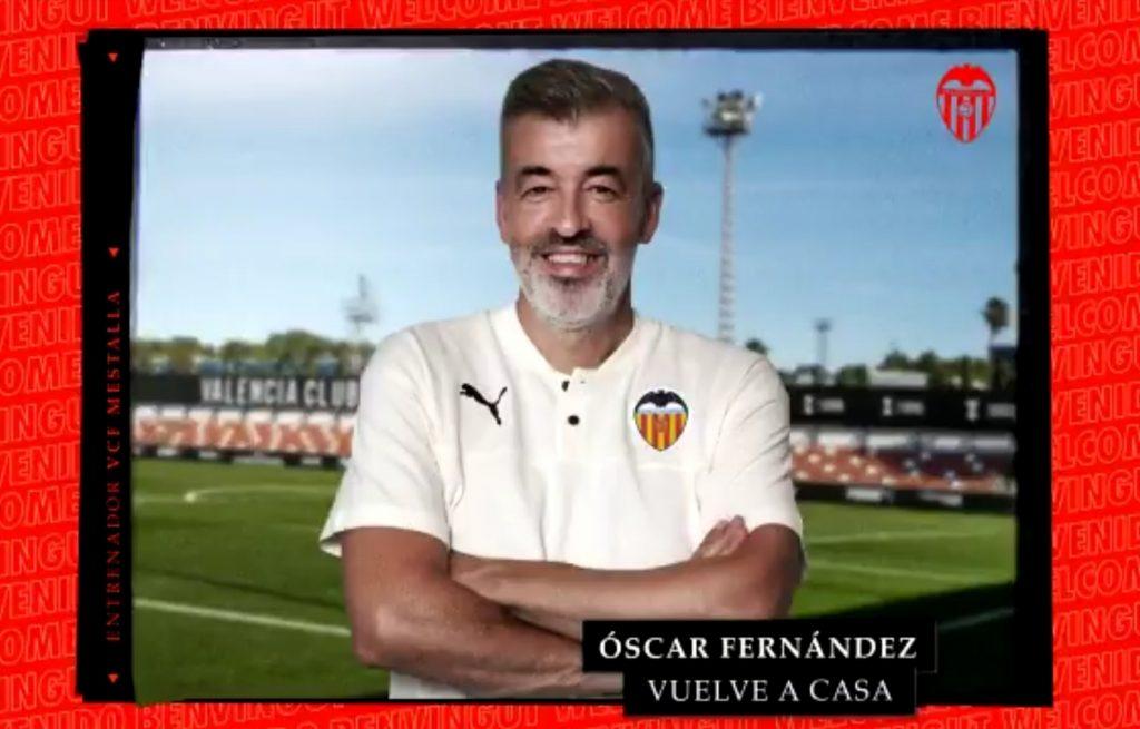 OFICIAL | Óscar Fernández ya es el entrenador del VCF Mestalla (Incluye Vídeo) 1